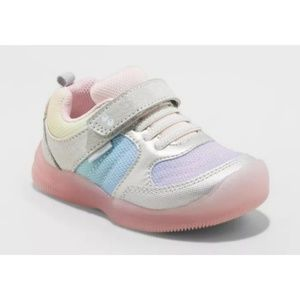Sabrina Stride Rite Rainbow Light Up Sneakers
